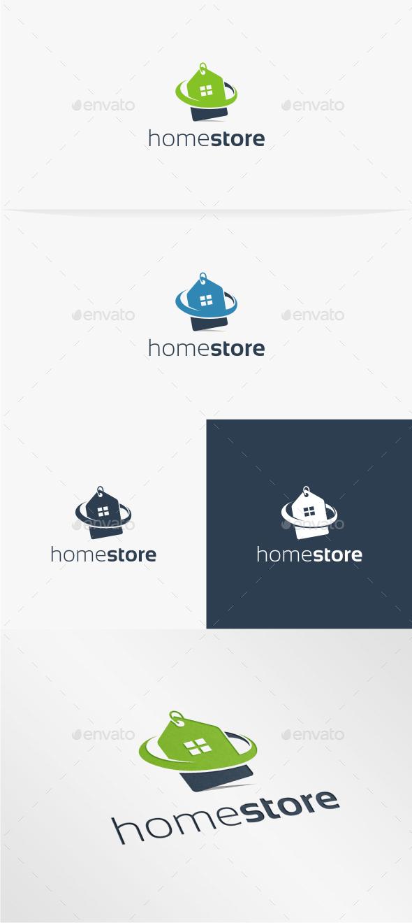 GraphicRiver Home Store Logo Template 10772409