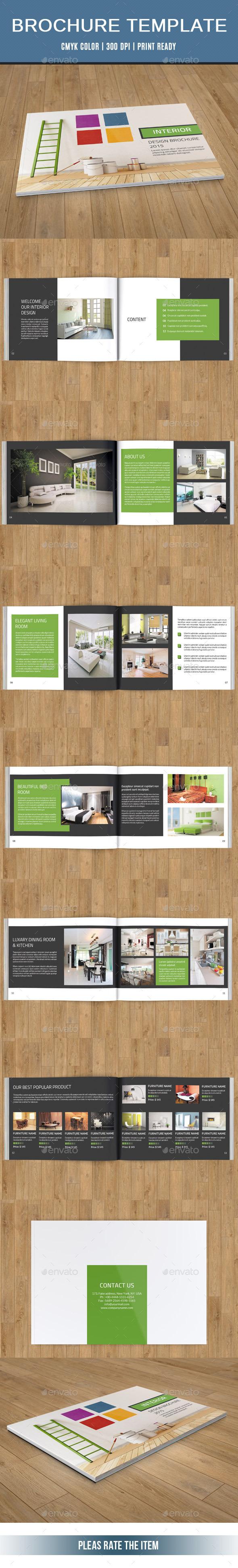 GraphicRiver Interior Catalog Brochure-V155 10772483
