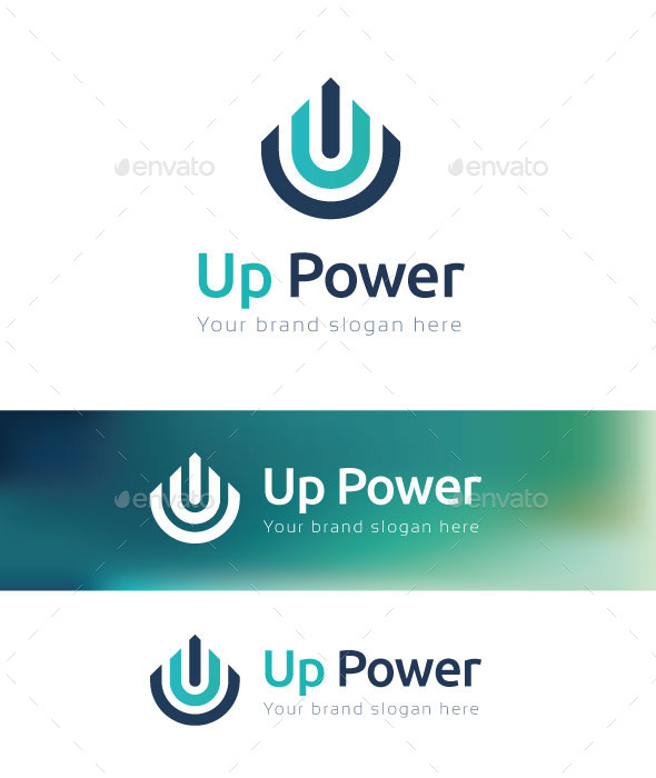 GraphicRiver Up PowerLogo Template 10772916