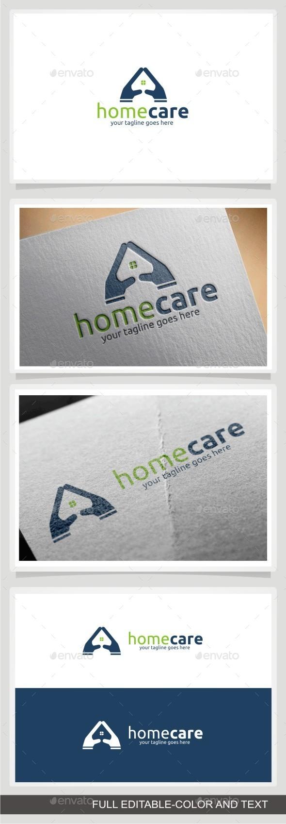 GraphicRiver Home Care Logo 10772933