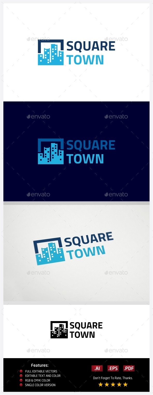 GraphicRiver Square Town 10773377