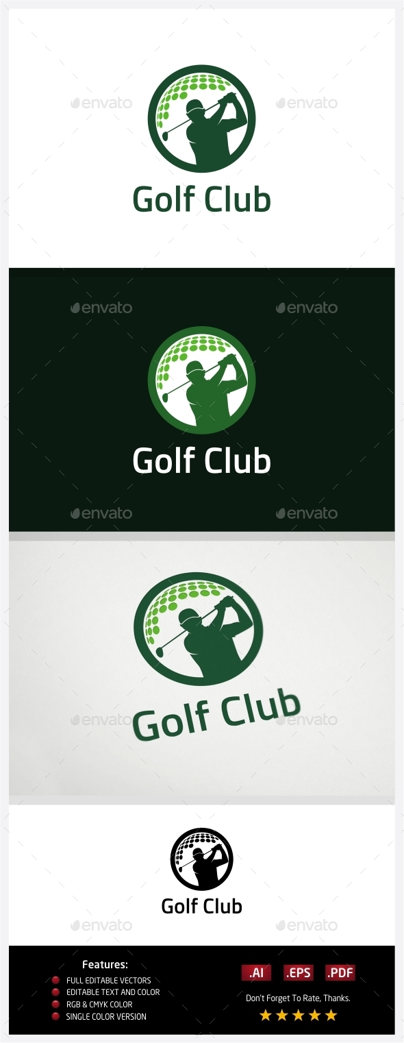 GraphicRiver Golf Club 10773601