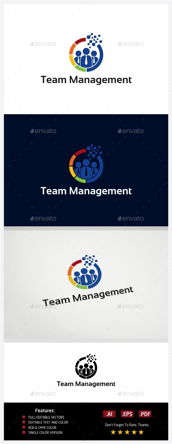 GraphicRiver Team Management 10773660