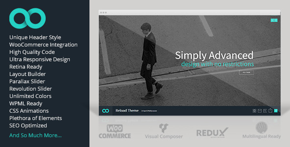 Reload - Responsive Multi-Purpose Theme - Corporate WordPress