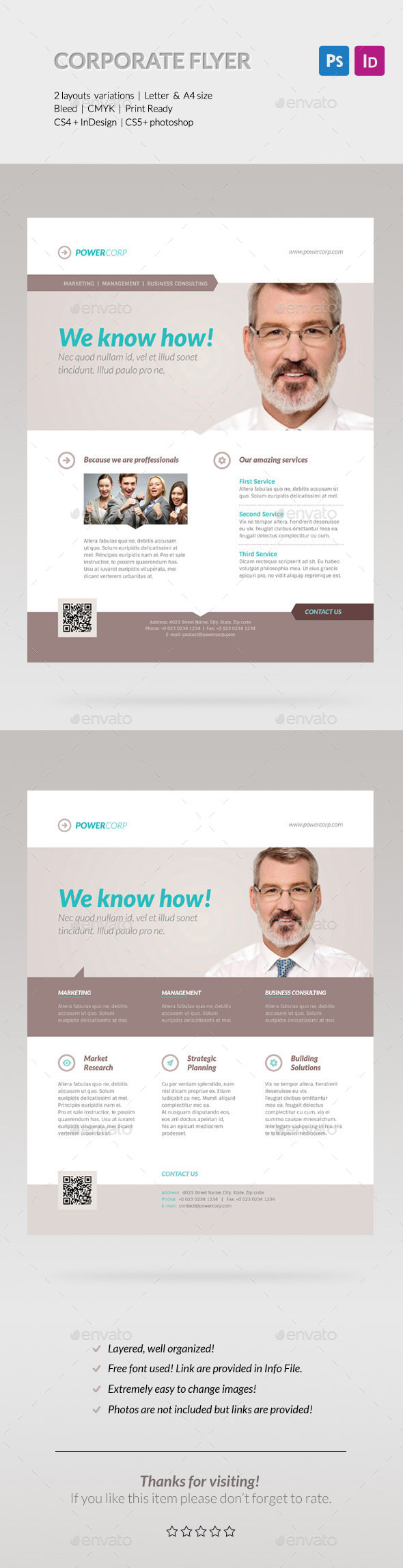 GraphicRiver Business Corporate Flyer Set 10773746