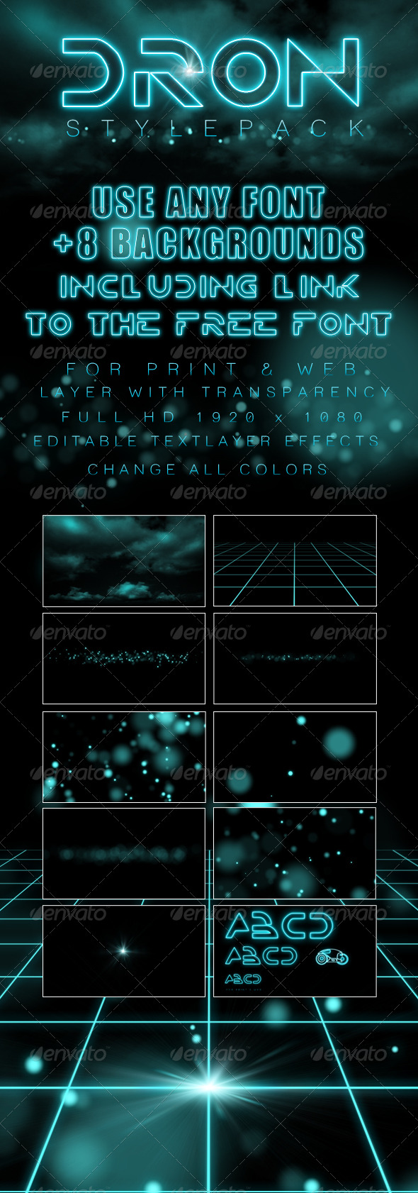 GraphicRiver Dron Style Pack 133359