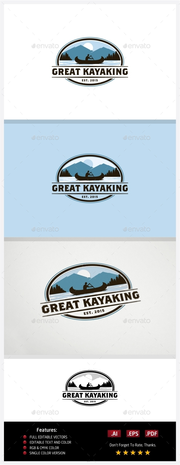 GraphicRiver Great Kayaking 10774054