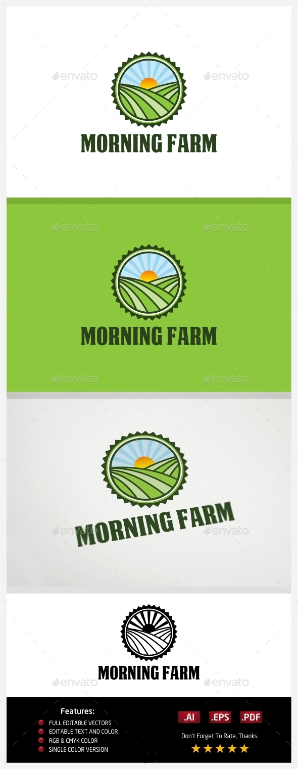 GraphicRiver Morning Farm 10774313