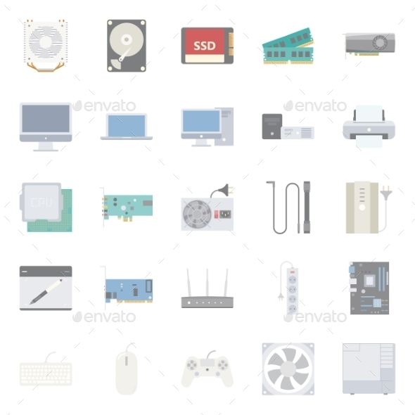 GraphicRiver Computer Components 10774393