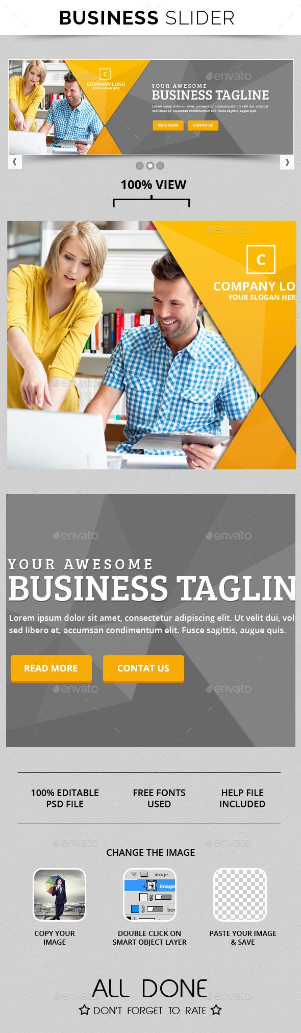 GraphicRiver Business Slide V7 10774440