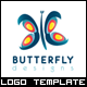 Butterfly Logo Template - GraphicRiver Item for Sale