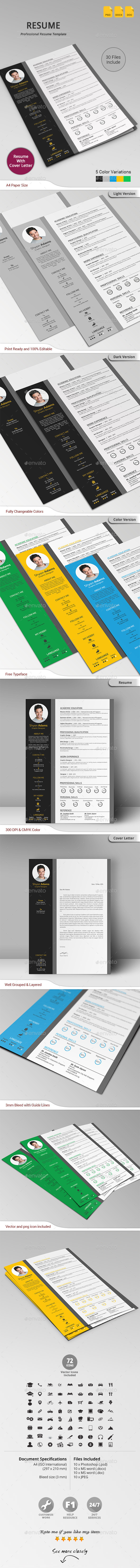 GraphicRiver Resume 10775258