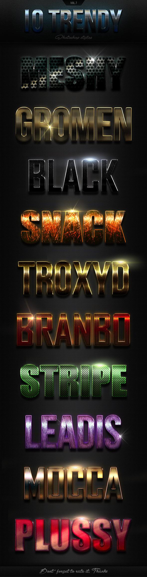 GraphicRiver 12 Trendy Photoshop Styles Vol.7 10775259