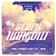 Beach Hangout Flyer - GraphicRiver Item for Sale