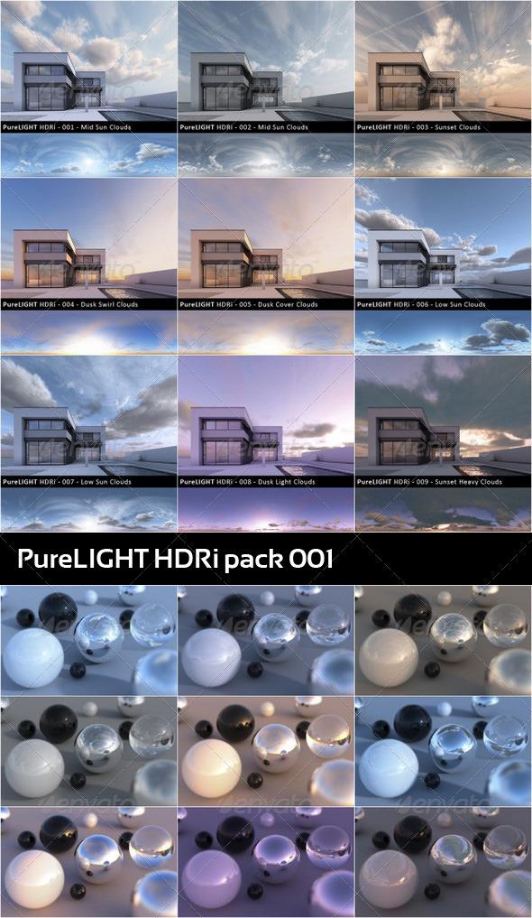 3DOcean PureLIGHT HDRi Collection 01 134408