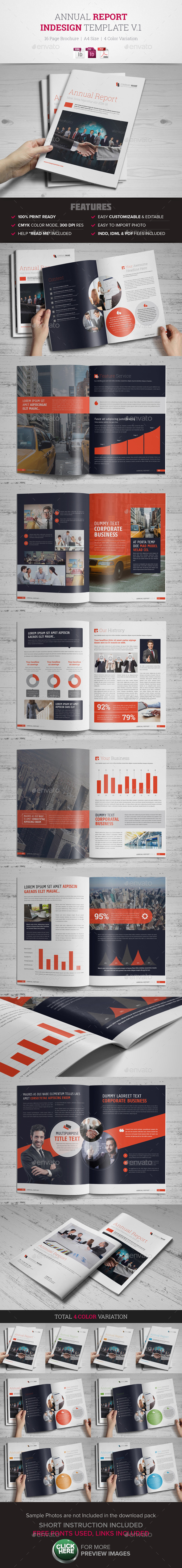 GraphicRiver Annual Report InDesign Template 10775715