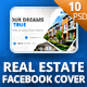 Real Estate Facebook Cover - GraphicRiver Item for Sale