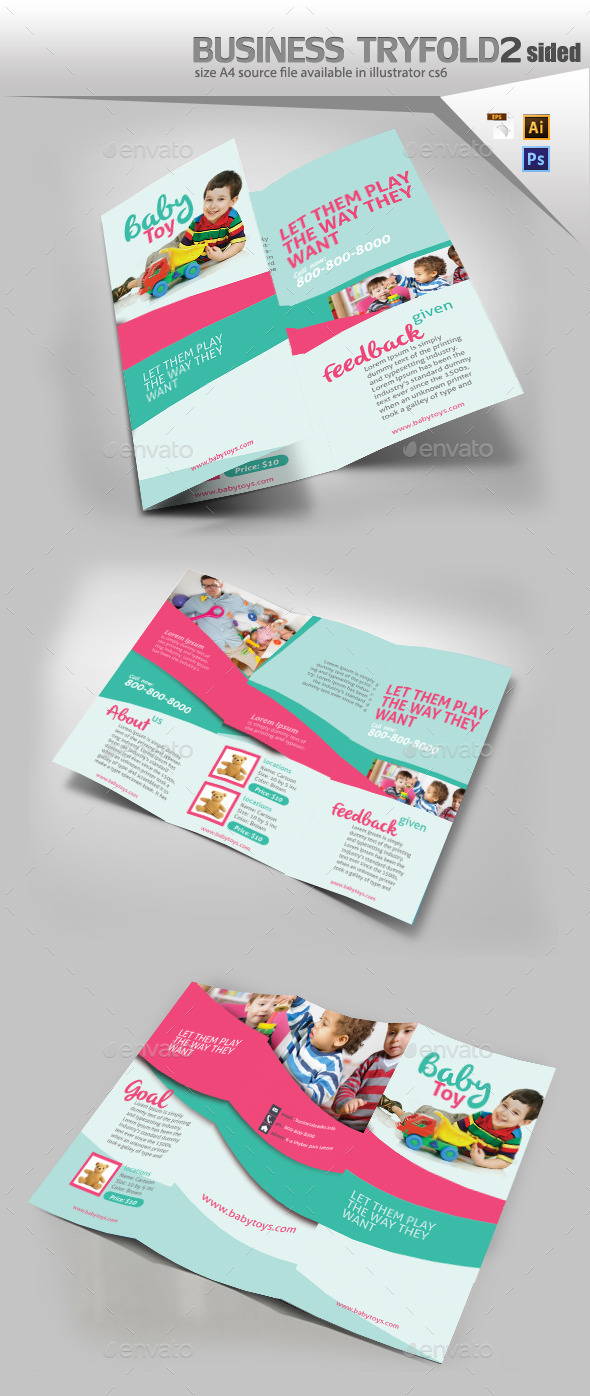 GraphicRiver Baby Toys Store Brochure 10776498
