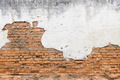 white exposed brick concrete wall. - PhotoDune Item for Sale