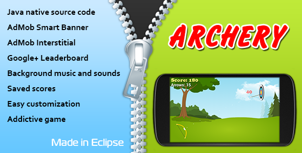 CodeCanyon Archery with AdMob and Leaderboard 10777432