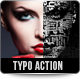 Typo Portrait Pro Photoshop Action - GraphicRiver Item for Sale
