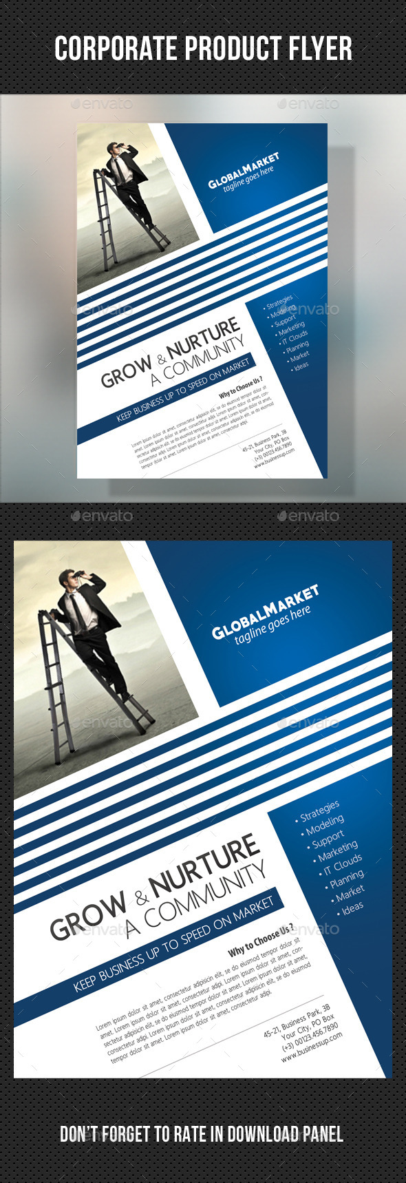 GraphicRiver Corporate Business Flyer 03 10778732