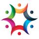 Team Social Colorful Logo