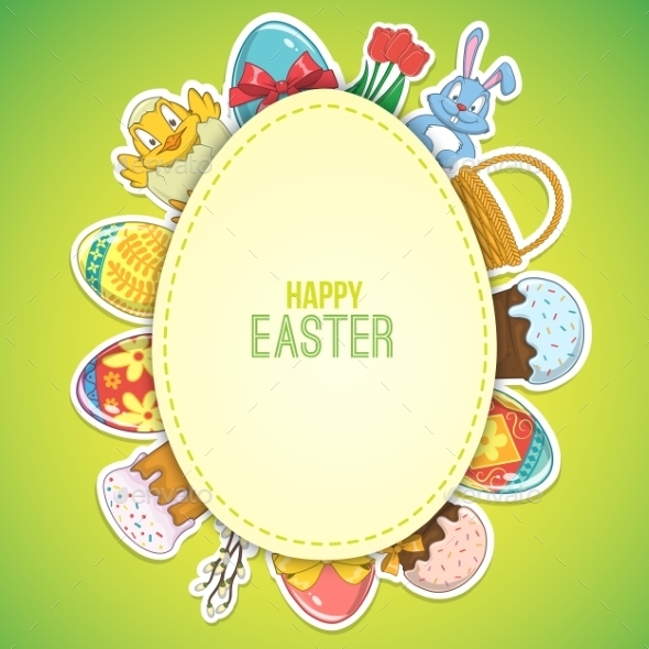 GraphicRiver Easter Background 10780317