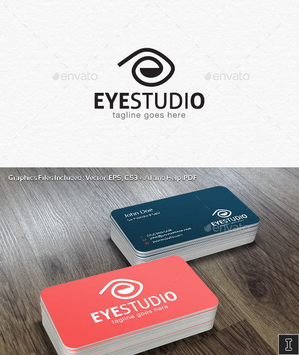 GraphicRiver Eye Studio Logo Template 10780323