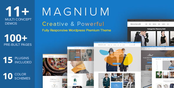 ThemeForest Magnium Multi-Purpose WooCommerce Theme 10780340