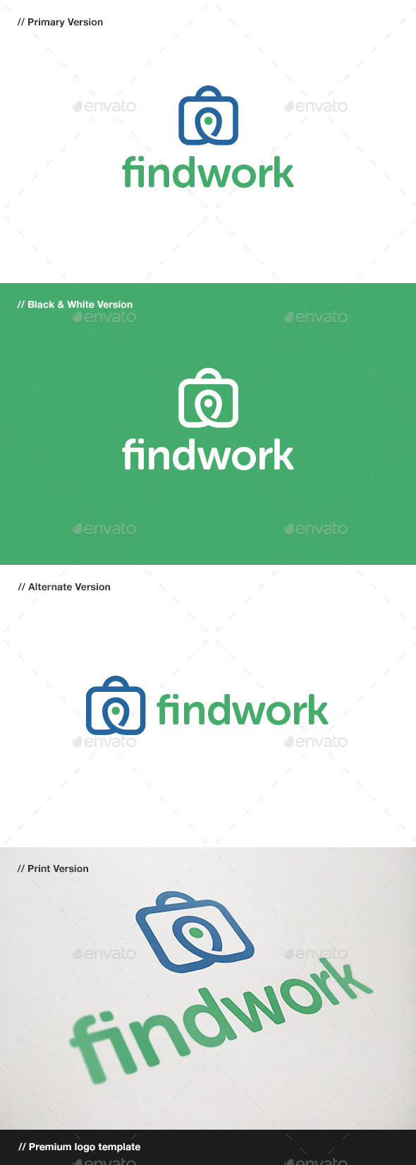GraphicRiver Find Work Logo 10780381