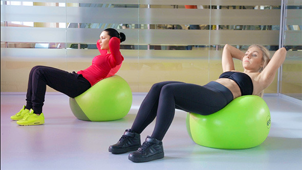 Abdominal Exercise on the Ball