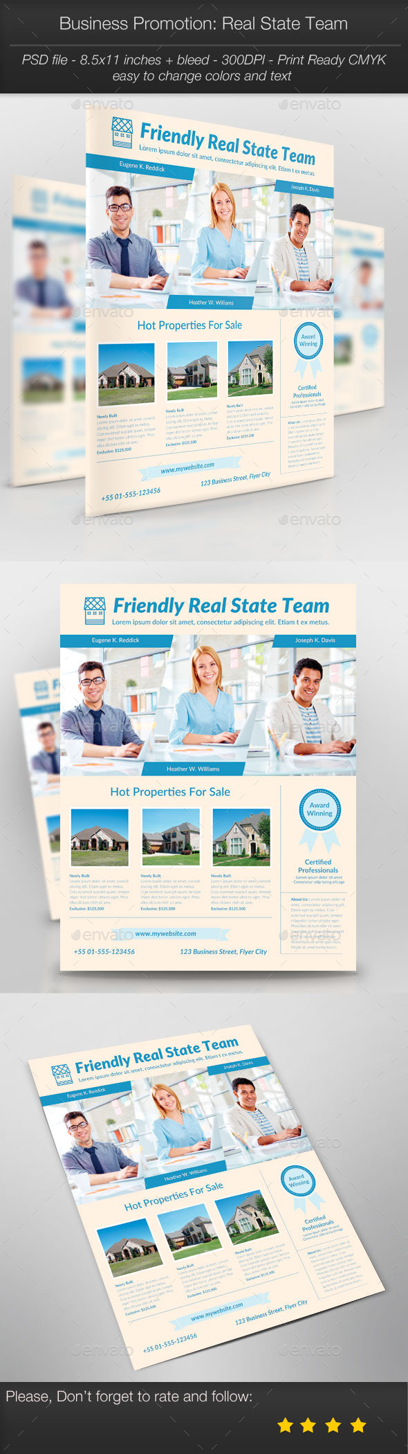 GraphicRiver Business Promotion Real State Team 10780486