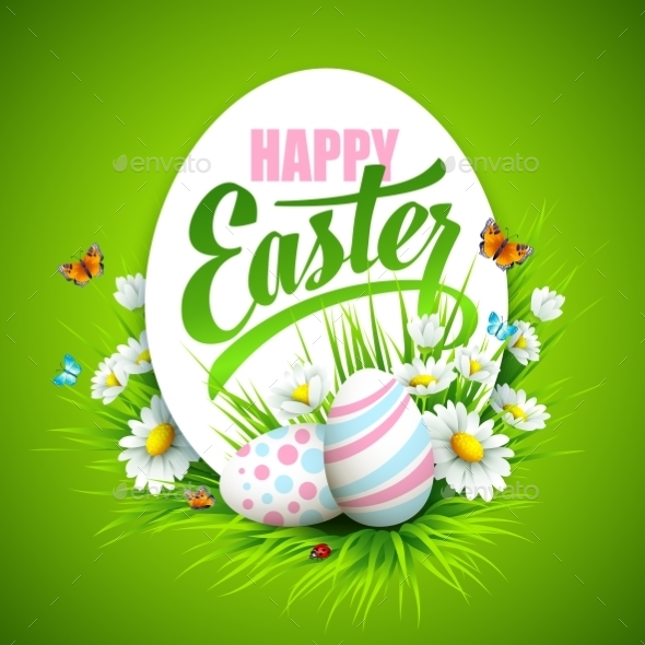 GraphicRiver Easter Greeting 10780814