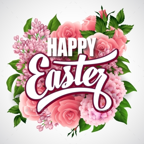 GraphicRiver Easter Greeting 10780818
