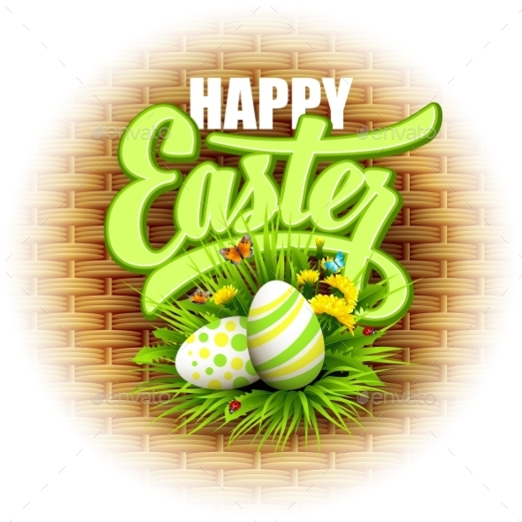 GraphicRiver Easter Greeting 10780822