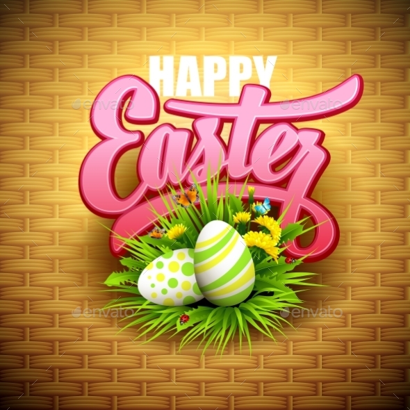 GraphicRiver Easter Greeting 10780828