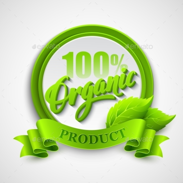 GraphicRiver Organic Label 10780834