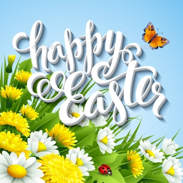 GraphicRiver Easter Greeting 10780846