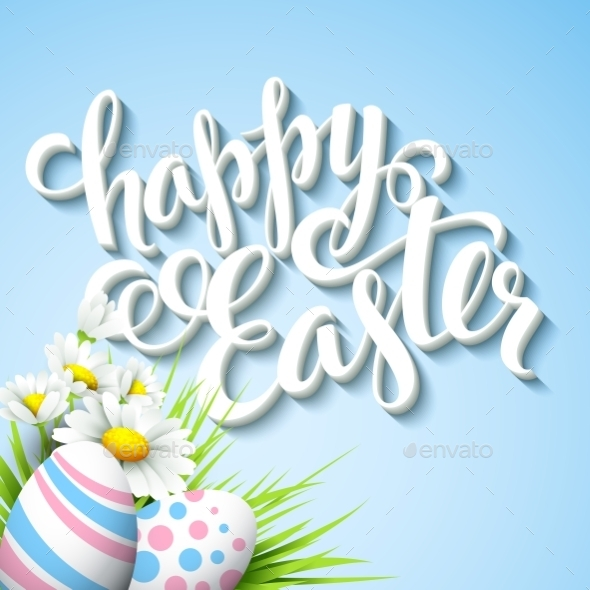 GraphicRiver Easter Greeting 10780849