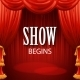 Red Curtains Theater Scene - GraphicRiver Item for Sale
