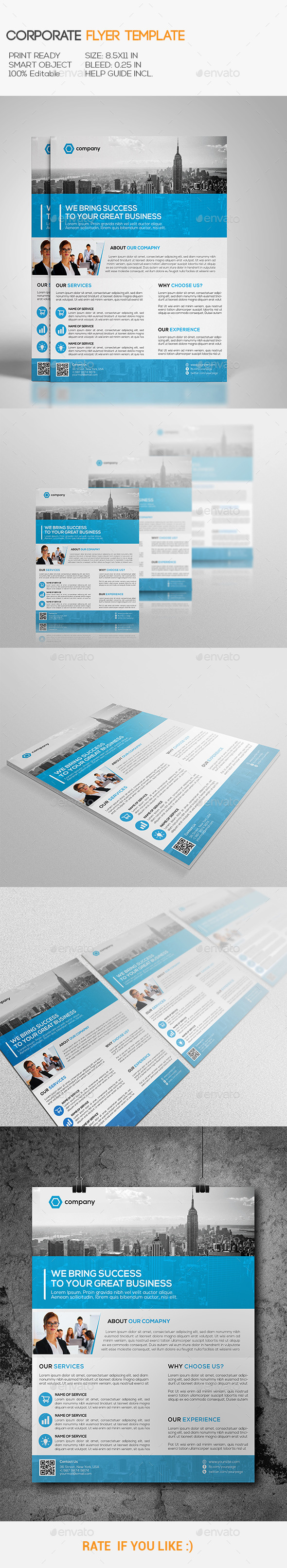 GraphicRiver Corporate Flyer 10780946