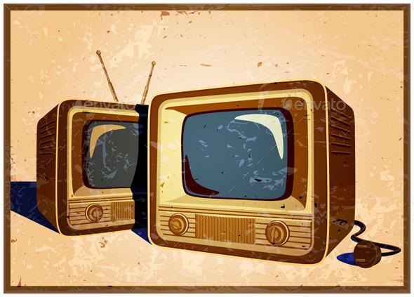 GraphicRiver Retro TV 10781210