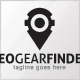 Geo Gear Finder Logo Template