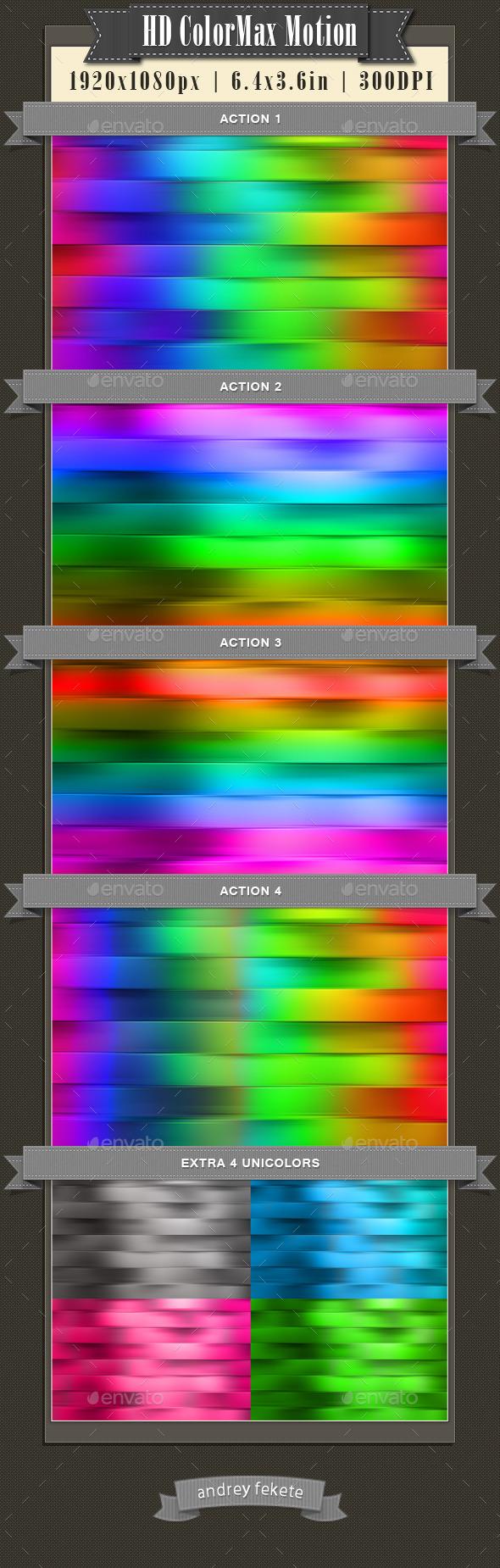 GraphicRiver HD ColorMax Motion 10781453