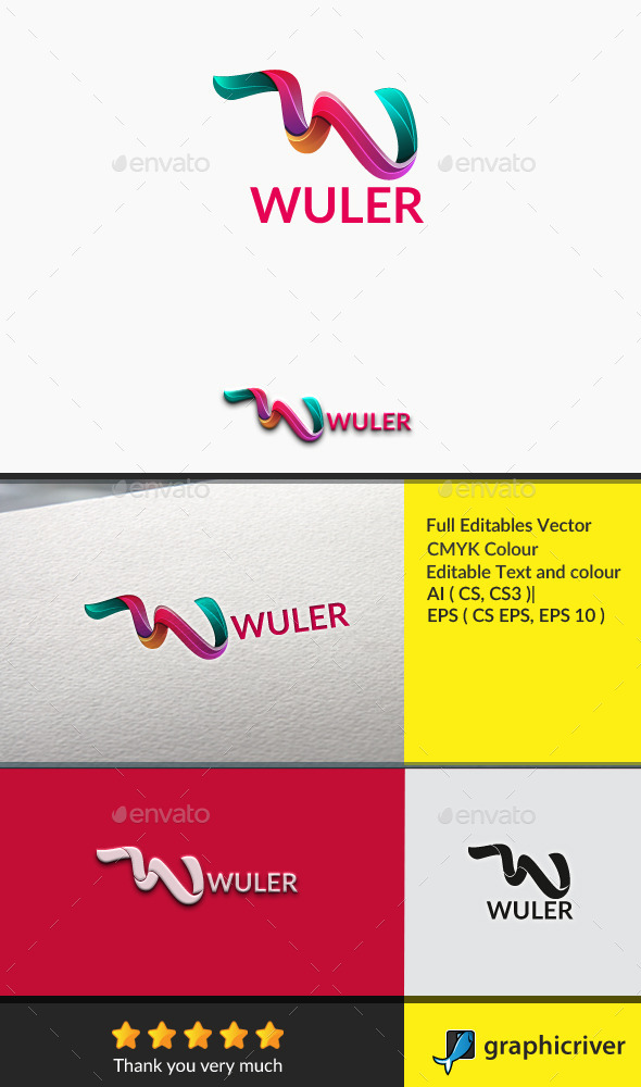 GraphicRiver wuler Letter W 10781459