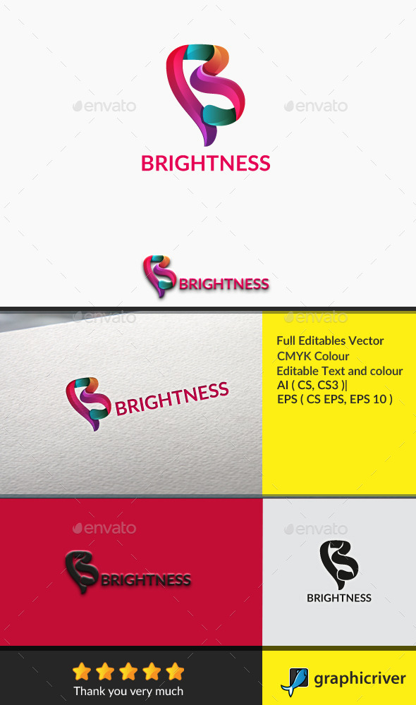 GraphicRiver Brightness Letter B 10781664