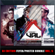 Guest DJ Party Flyer/Poster Bundle Vol.5 - GraphicRiver Item for Sale