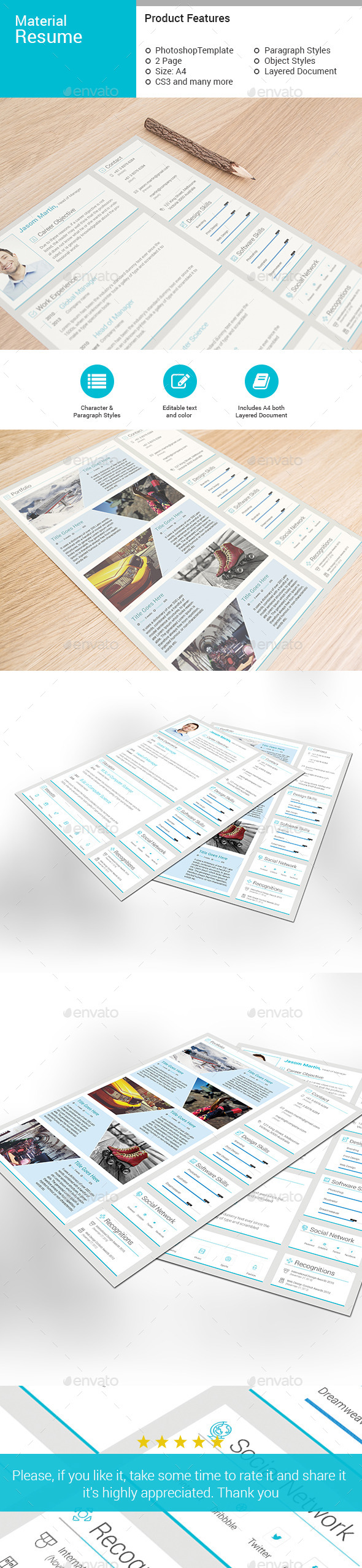 GraphicRiver Resume 10714431