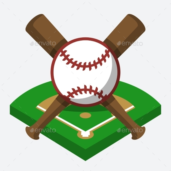 GraphicRiver Baseball Composition 10781840